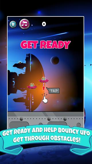 Bouncy UFO Invasion - An Alien Skill Survival Challenge
