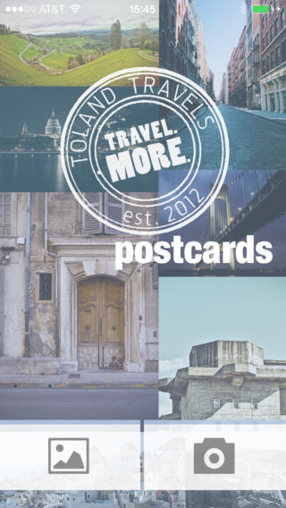 Toland Travels Postcards