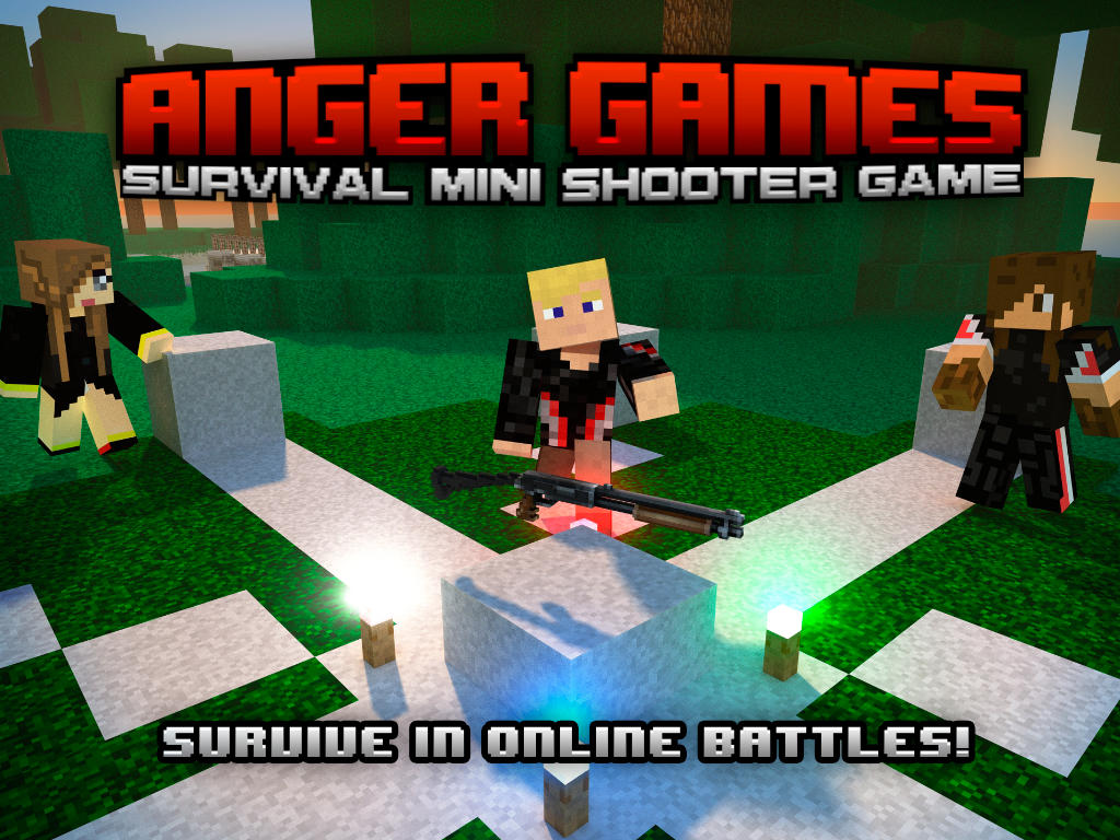 App shopper anger games multiplayer survival mini for Survival crafting games pc