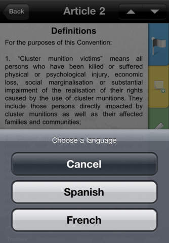 Laws and Rules in War iPhone Screenshot 3