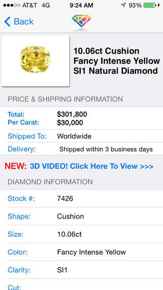 Kashi Investment Diamonds