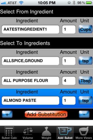 Culinary Calculator Pro iPhone Screenshot 3