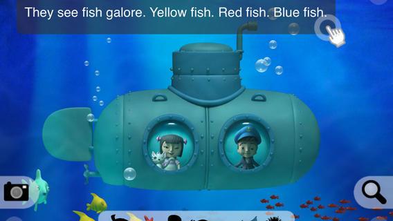 Scott's Submarine - Interactive storybook. An educational adventure under the sea