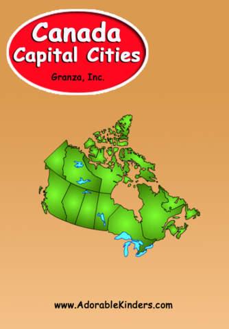 Canada Capital Cities