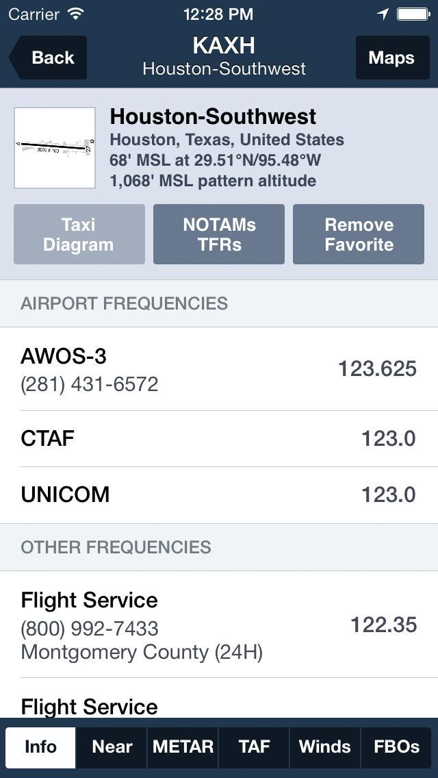 ForeFlight Mobile  Screenshot