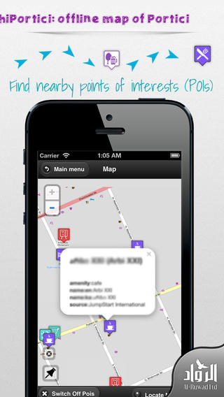 Portici Offline Map from hiMaps:hiPortici