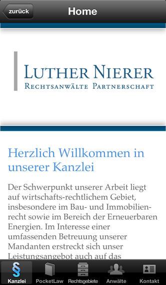 Luther Nierer Rechtsanwälte Partnerschaft