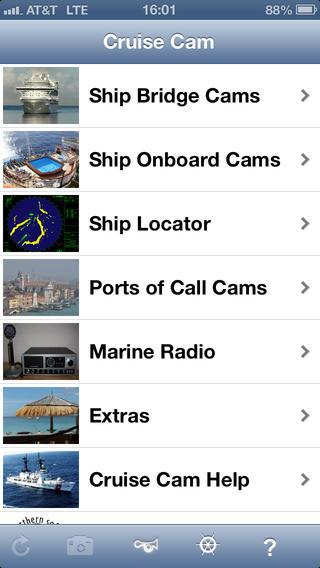 Cruise Cam iPhone Screenshot 2