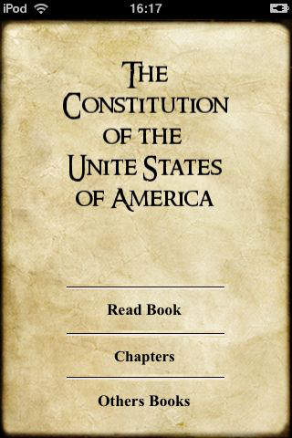 The Constitution of the United States of America iPhone Screenshot 4