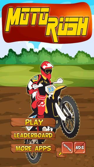 Speedy Moto-Cross Race: Fun Chasing Rush Game
