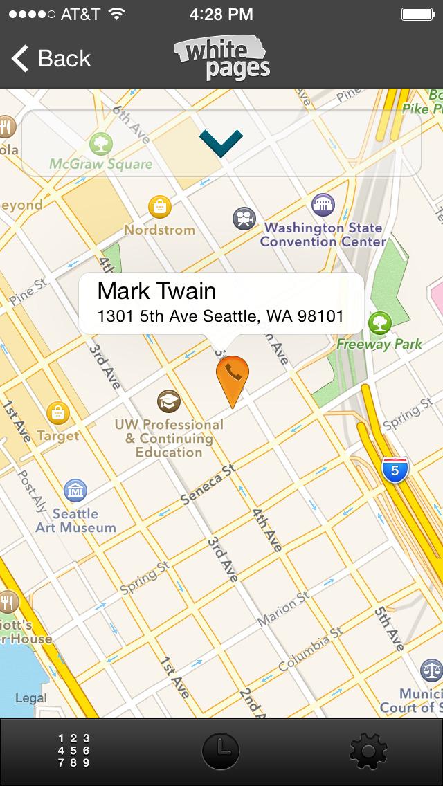 Reverse Phone Lookup app image