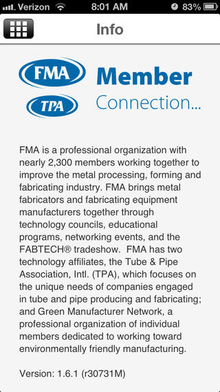 Fabricators & Manufacturers Association and Tube & Pipe Association Members Mobile App