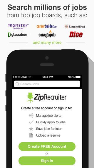 Job Search & Job Alerts by ZipRecruiter