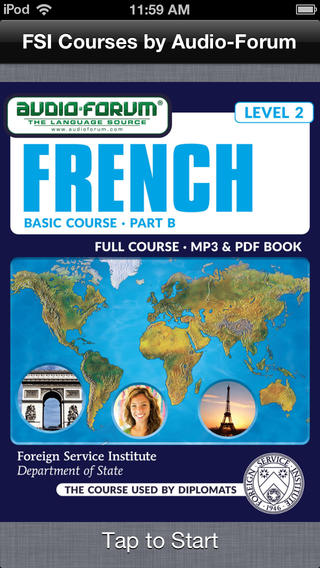 French Basic Course Part B Level 2 - by Audio-Forum Foreign Service Institute