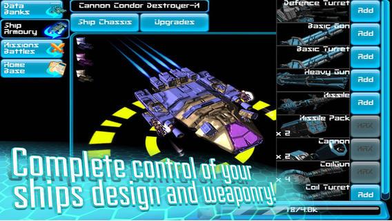 飞船大战3D-星际太空大战策略
