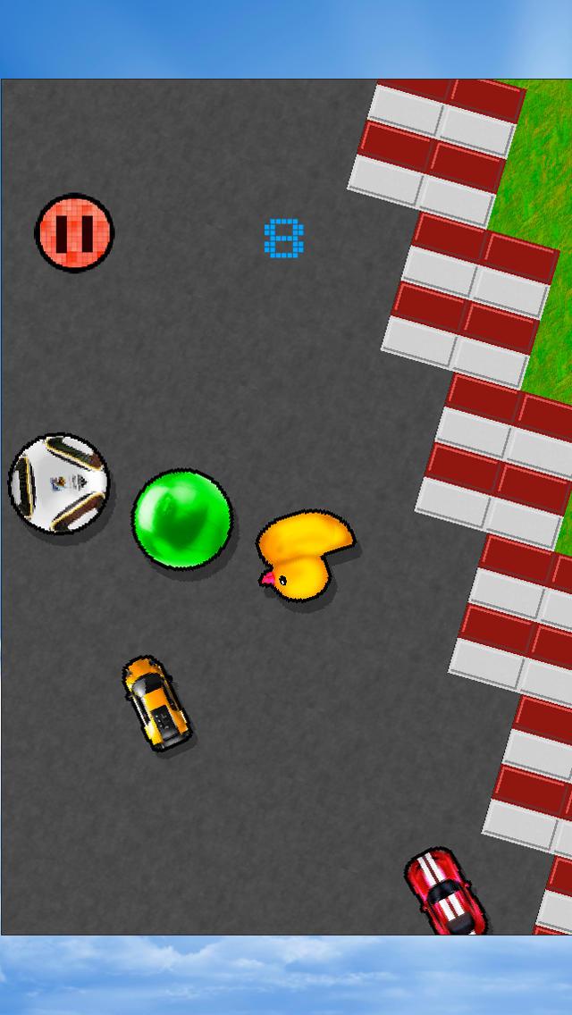 PIXEL noMSG OUTRUN  Screenshot