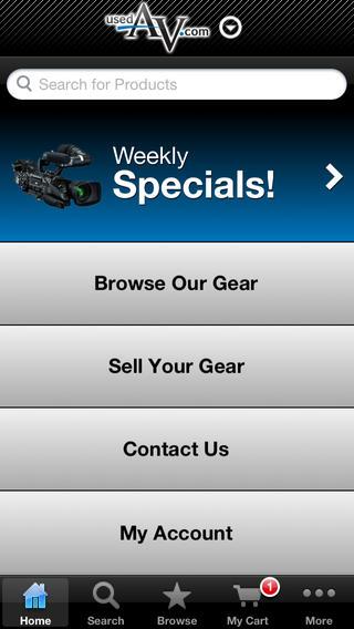 UsedAV.com for iPhone