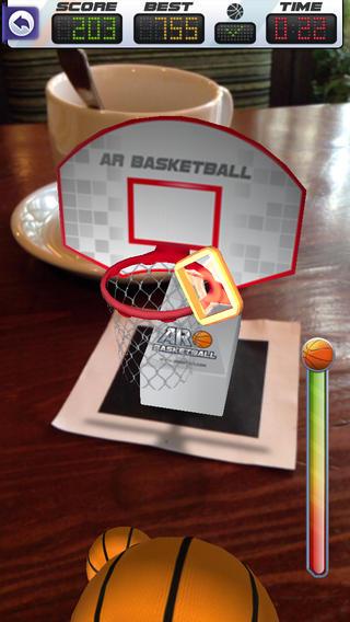 实景篮球 ARBasketball
