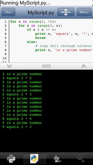 玩生產應用App Python 2.7 for iOS免費 APP試玩