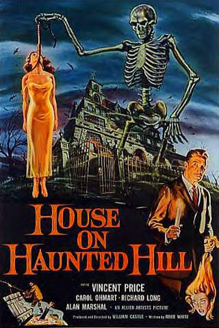House on Haunted Hill - Starring Vincent Price - Horror Movie