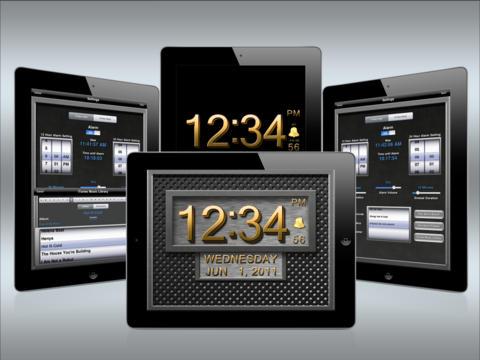 Clock 3D Metal HD