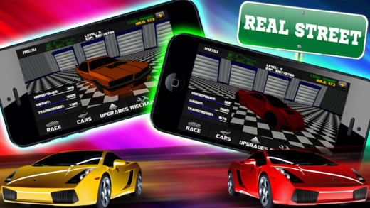 Car Builder and Street Drag Racer 3D Free - Quarter Mile Racing Challenge