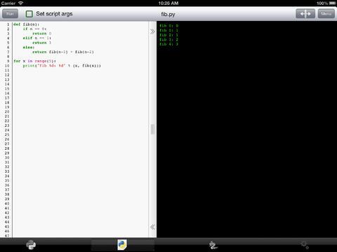 玩免費生產應用APP|下載Python 3.4 for iOS app不用錢|硬是要APP