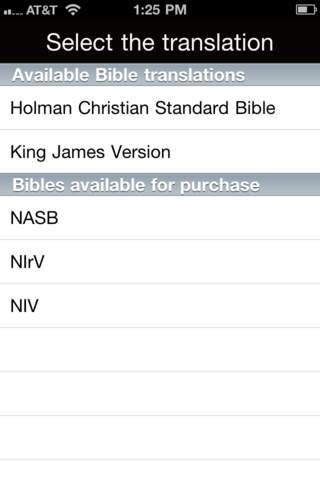 100 Bible Verses iPhone Screenshot 5