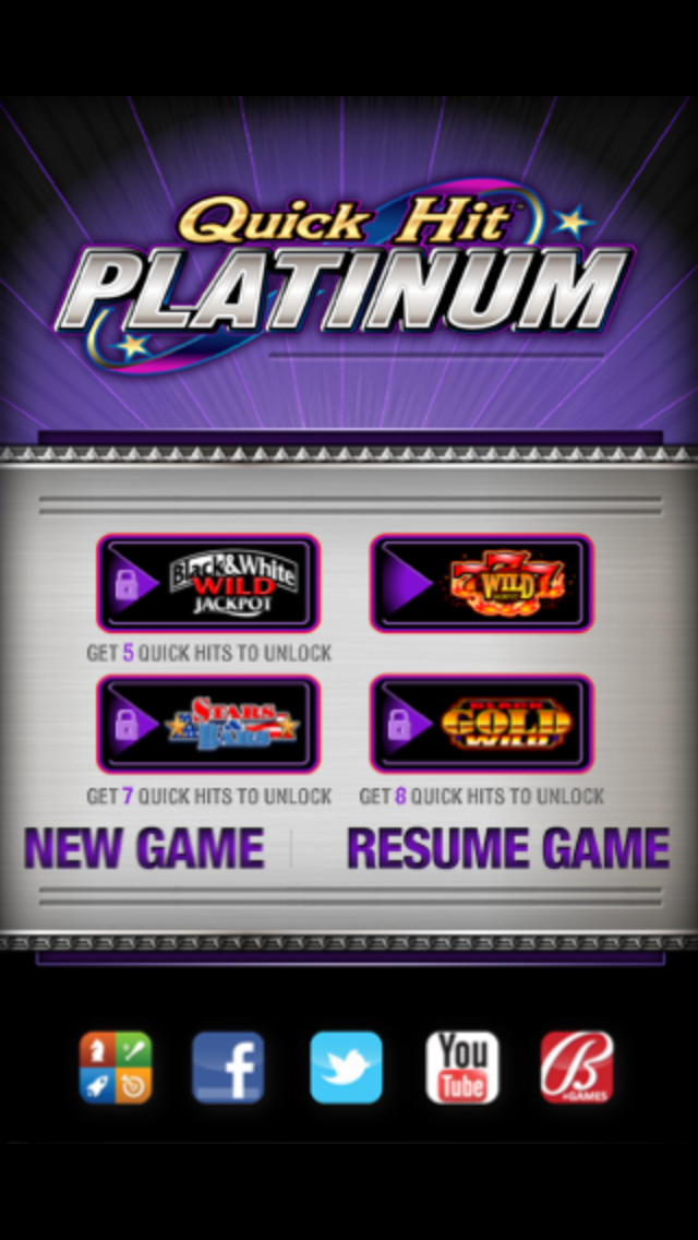 Quick Hit Platinum Slots – Free Triple Blazing 7s by Bally