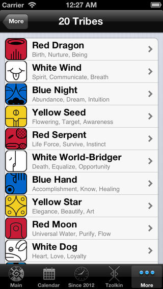 Dreamspell iPhone Screenshot 4