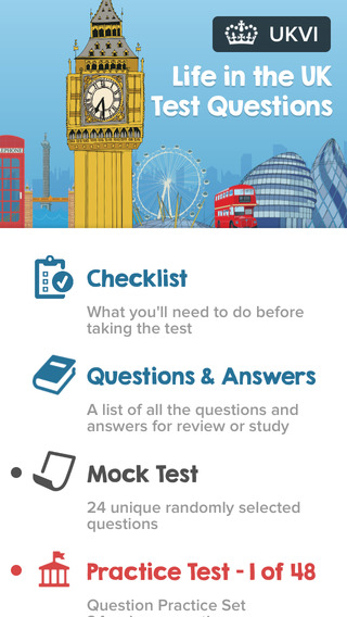 Life in the UK Test Questions - Citizenship Test Study and Practice Guide