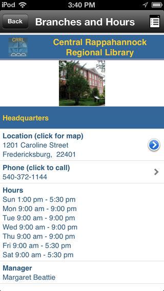CRRL Mobile iPhone Screenshot 5
