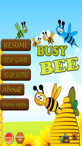 Busy Bee - Tap 'n Pop Them To Set Free