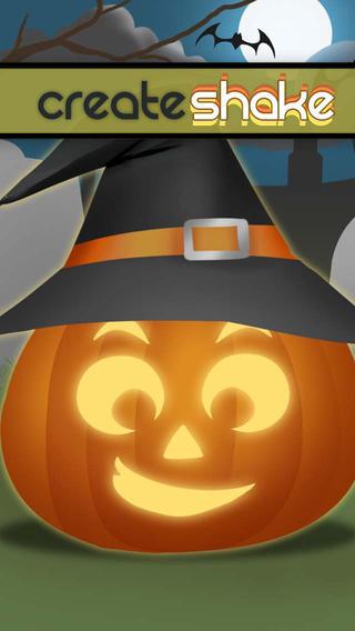 CreateShake: Halloween Pumpkin