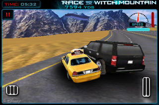 Screenshots of Race To Witch Mountain for iPhone