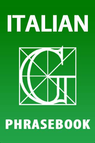 Garzanti Linguistica Italian Phrasebook