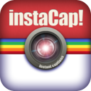 instaCap Free - Instant funny photo captions for Instagram & Facebook photos mobile app icon