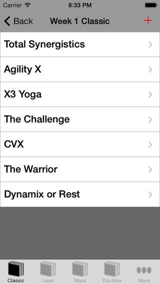 【免費健康App】Workout Log for P90X3-APP點子