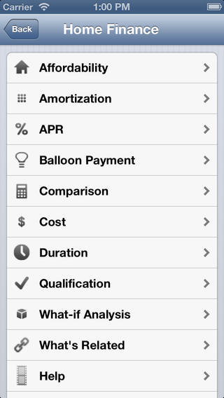 Consumer Finance iPhone Screenshot 4