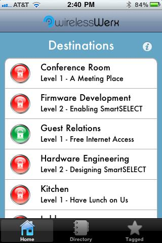 WirelessWERX Destinations