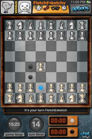 GameDock - Multiplayer Chess, Hearts, Blast4 and FleetMaster! iPhone Screenshot 4