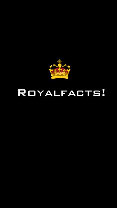RoyalFacts iPhone Screenshot 1