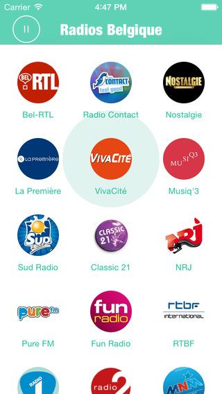 Radios Belgique: Belgique Radios include many Belgique Radio Radios Belgium like VRT Radio RTBF Viva