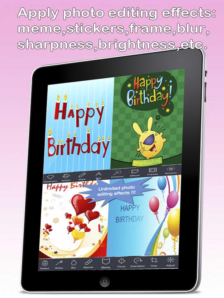 App Shopper The Ultimate Happy Birthday Cards Pro Version Custom