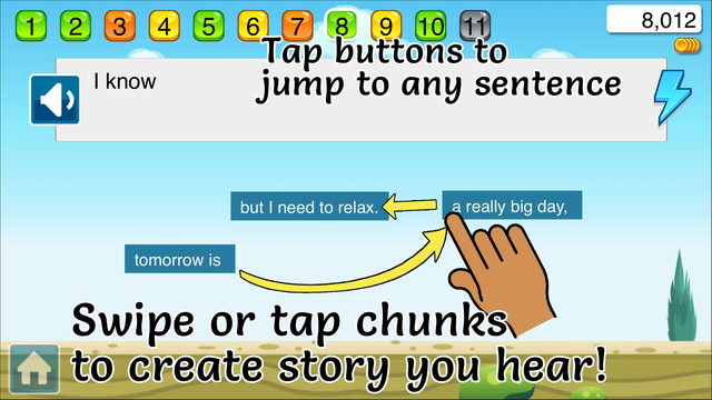 Chunky English: Fluency Free