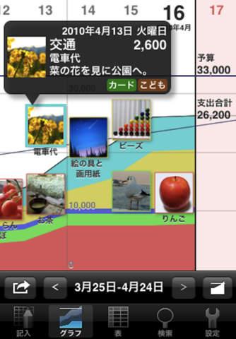 ExpenseBook -budget viewer screenshot 3