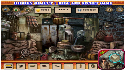Hidden Object : Hide And Secret Game