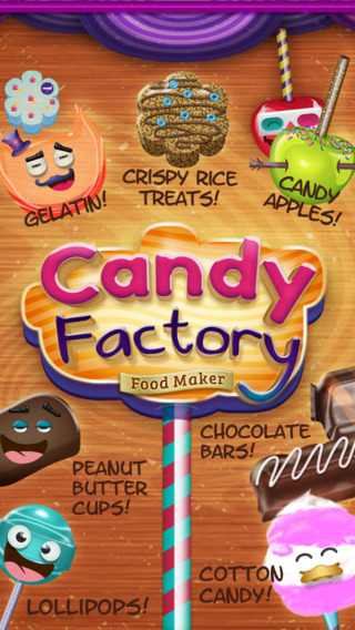 Candy Factory Food Maker Free by Treat Making Center Games