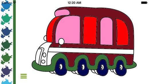 Cars Coloring Book - Kids Game Free