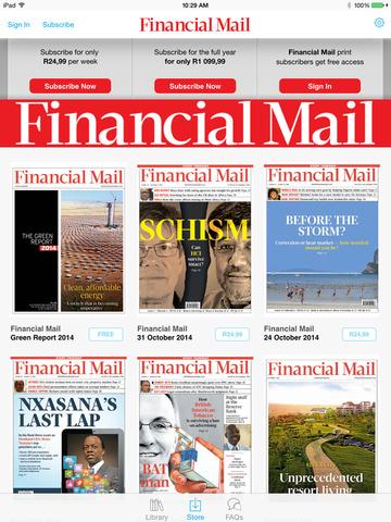 Financial Mail Magazine
